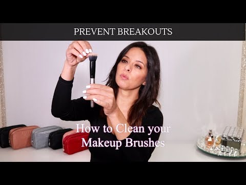 Old school way to Clean your Makeup Brushes| $3 baby wash last months