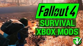 FALLOUT 4 Top 5 BEST Survival Mode CONSOLE MODS Customize Survival Mode with Xbox Mods