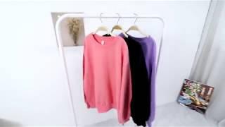 30대미시쇼핑몰 패치 맨투맨 티셔츠(스타일빅걸)