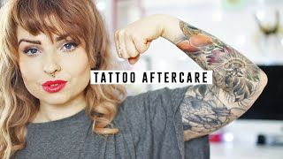 tattoo aftercare   helen anderson