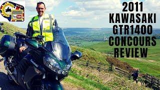 2011 Kawasaki GTR1400 Concours Review