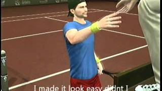 Smash court tennis 3 hints and tricks