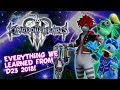 KH3 - All D23 2018 Info - Release Date Reveal E3 2018 NOT CONFIRMED - Gummi Ship Open World & More!