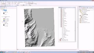 ArcGIS : How to use Hillshade in ArcMap