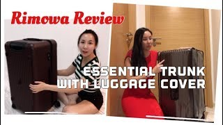 "Rimowa Salsa 28"" Sport Trunk Luggage With Cover Review //Rimowa行李箱超能装"