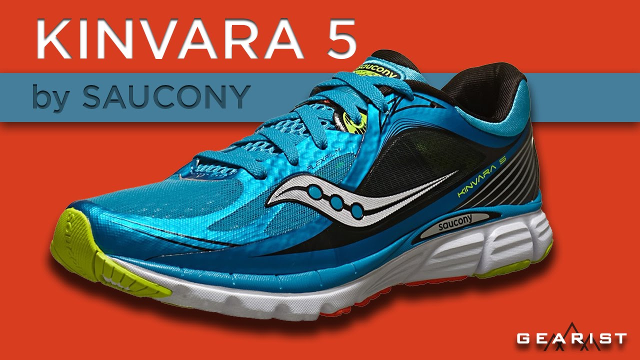 0fd85897964a SAUCONY KINVARA 5 RUNNING SHOES REVIEW - Gearist.com - YouTube
