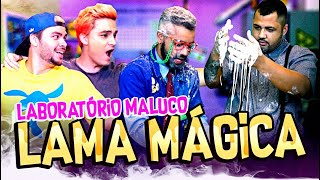 CRIAMOS UMA GOSMA MÁGICA QUE BRILHA NO ESCURO !!! LABORATÓRIO MALUCO