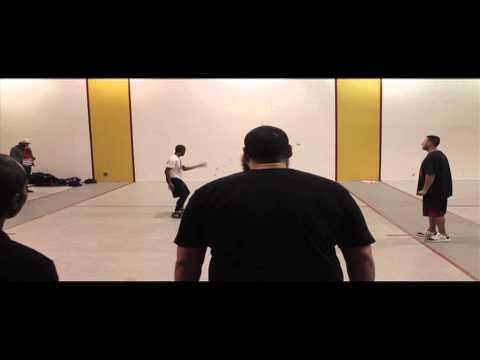 2014 Wall Ball Open - Tywan & Chris vs Pete & Phat Kat