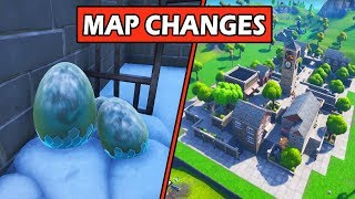 SECRET 'NEW' CARTE CHANGE LES ŒUFS DE DRAGON - LE BLOC! FORTNITE - Fortnite Storyline (Saison 7)