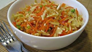 Капуста по-корейски | Салат из капусты по-корейски | Корейский салат