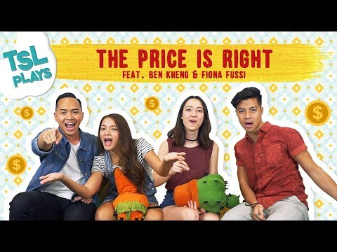 TSL Plays: The Price is Right (feat. Benjamin Kheng & Fiona Fussi) + GIVEAWAY