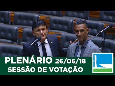 PLENÁRIO - Sessão Deliberativa - 26/06/2018 - 09:00