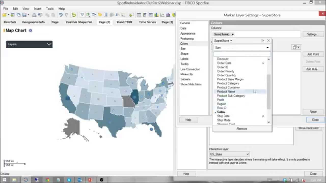 TIBCO Spotfire Best Practices Data Mapping Part 2 YouTube