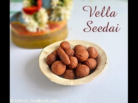 Sweet Seedai Recipe - Vella Seedai - Gokulashtami Recipes