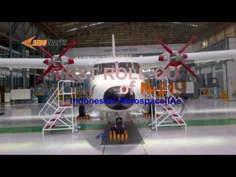 First Roll Out N-219 Product of Indonesian Aerospace(IAe), we pround to be Indonesian
