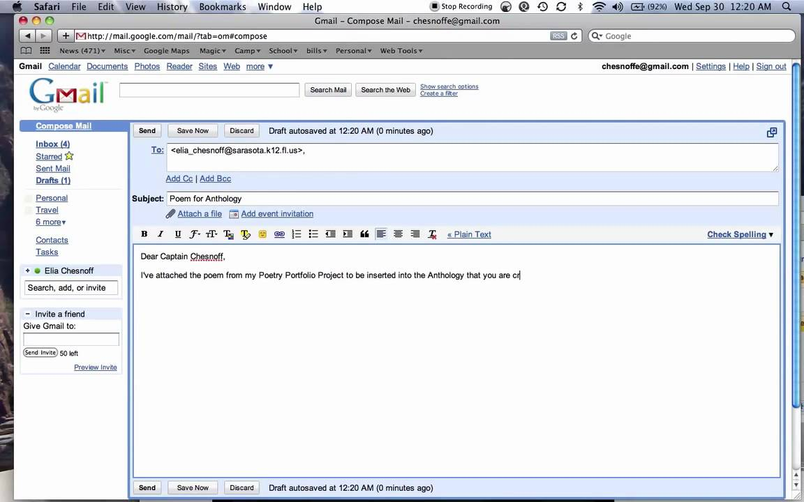 Sending Email W Attachment YouTube