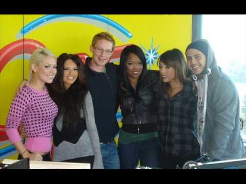 Girlicious and Danny Fernandes Radio Interview