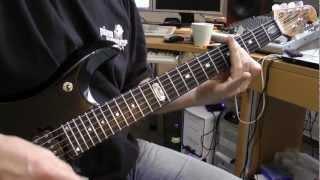 Judas Priest - The Ripper - (Guitar Cover) - Stahlverbieger