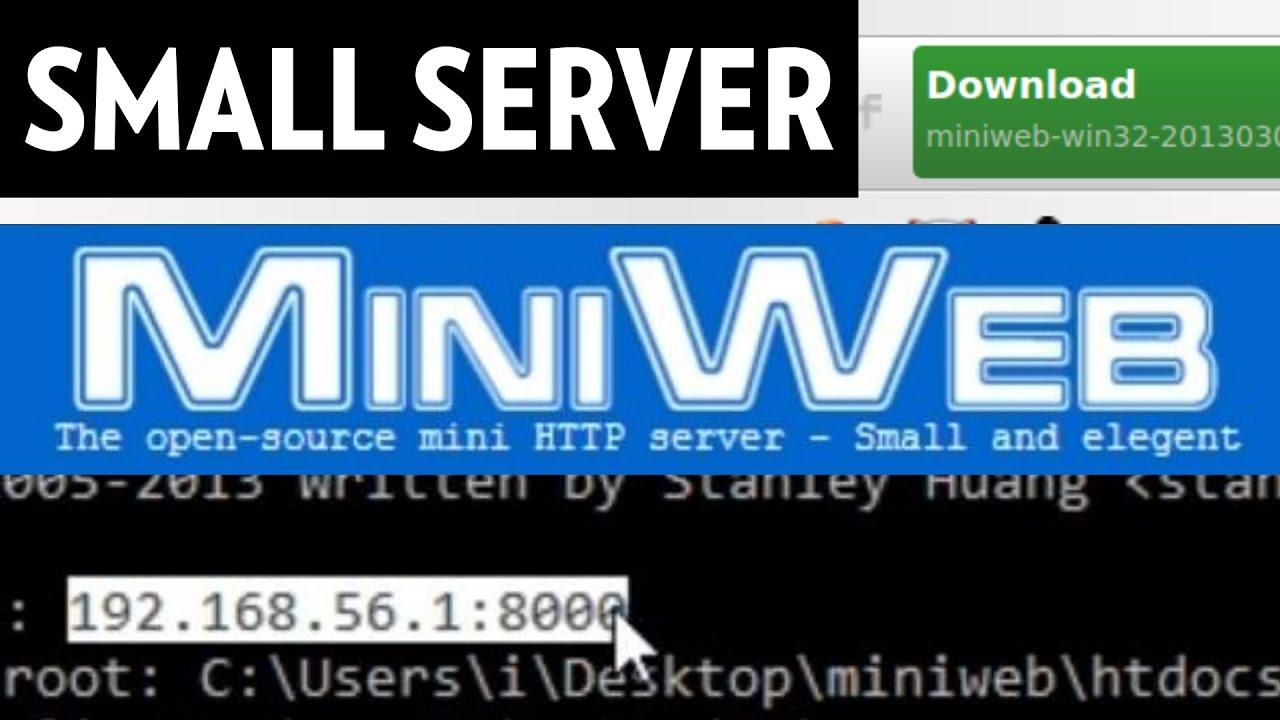 MiniWeb: Free Small HTTP Server