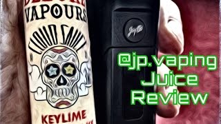 key-Lime Cheese Cake - Deluxe Vapours - E-juice Review - JP Vaping