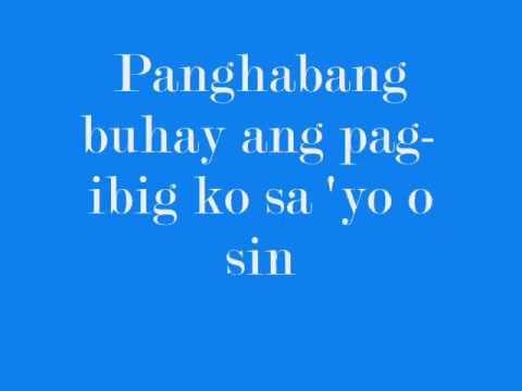 Yeng Constantino - Pag-ibig w/ lyrics