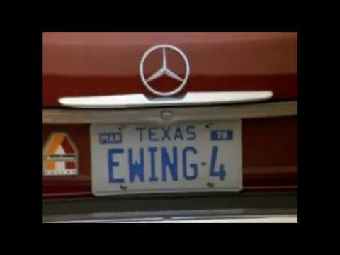 Dallas TV series - Mercedes-Benz cut opening credits