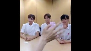 eng sub knk 크나큰 star news live interview 160520