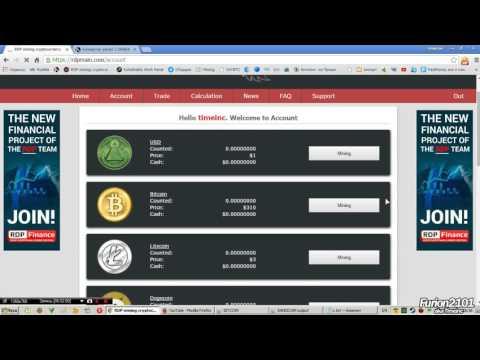 Конвертация биткоин в RDP мощности майнинга