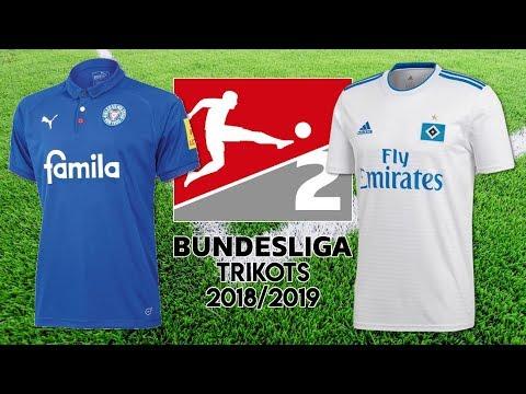 2. Bundesliga Trikots 2018/19