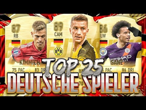 FIFA 20: TOP 25 DEUTSCHE SPIELER RATINGS PREDICTION🔥🔥