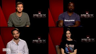 "Meet IMDb Guest Editors: The Stars of ""The Defenders"""