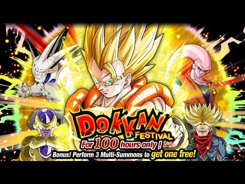 930 STONES SUMMON! INT SUPER GOGETA DOKKAN FESTIVAL SUMMONS [GLOBAL] Dragon Ball Z Dokkan Battle