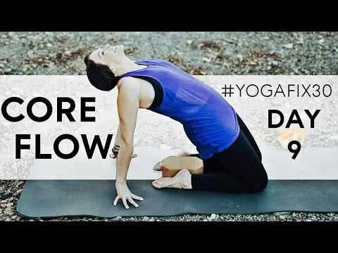 Vinyasa Flow for Core Strength YogaFix30 Day 9 With Fightmaster Yoga