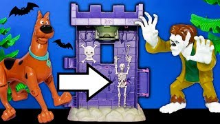 Scooby Doo Tower of Terror Unboxing Friends take a Bath