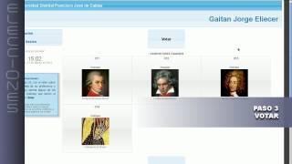 Video tutorial módulo de votaciones - 2014