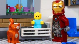 LEGO Baby - Iron Man Babysitter   Minifigure Studios