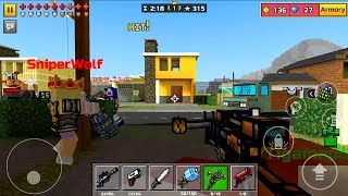 Pixel Gun 3D Android Gameplay Level 15