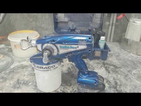 Airless repairs. Graco TrueCoat repair