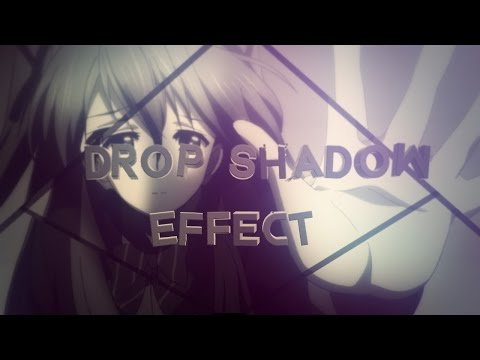 After Effects - AMV Tutorial : Drop Shadow Effect