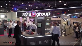 Video stand SMS GROUP · METEC 2019 Düsseldorf · iStandVideo