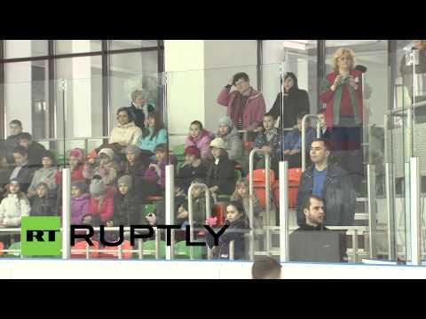 Ukraine: Stars of Russian sport visit Simferopol