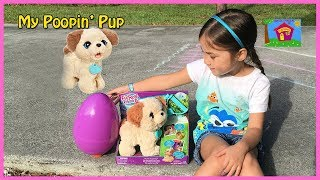 Cute Puppy FurReal Friends Pax and Egg Surprise! Interactive Pet Toys