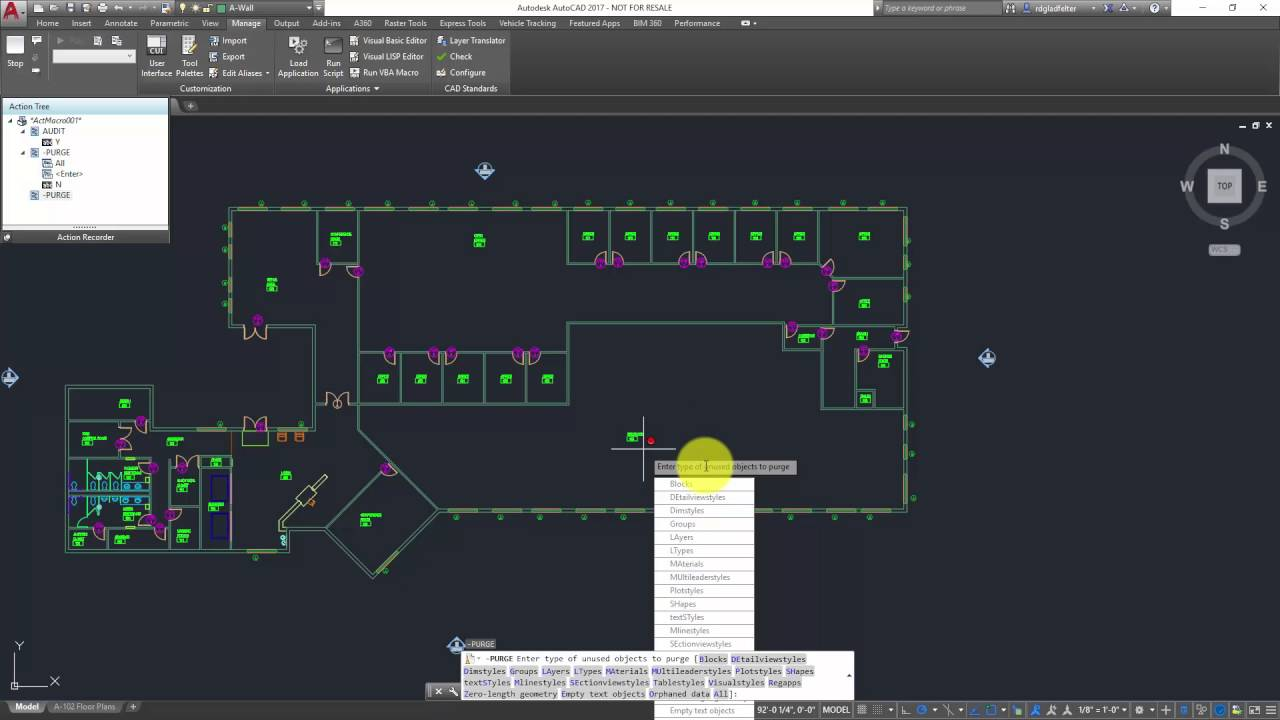 Quickly Automate Repetitive AutoCAD Tasks with Action Macro's