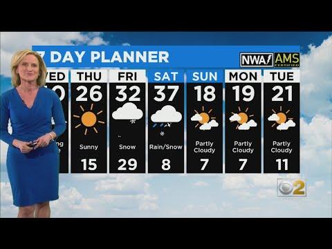 CBS 2 Weather Forecast (5PM 01-14-19)