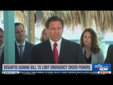 Gov. Ron DeSantis announces he's suspending all local COVID-19 emergency orders in Florida