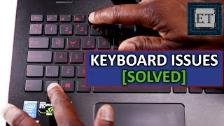 How to Fix Laptop Keyboard Not Working | Windows 10, 8, 7