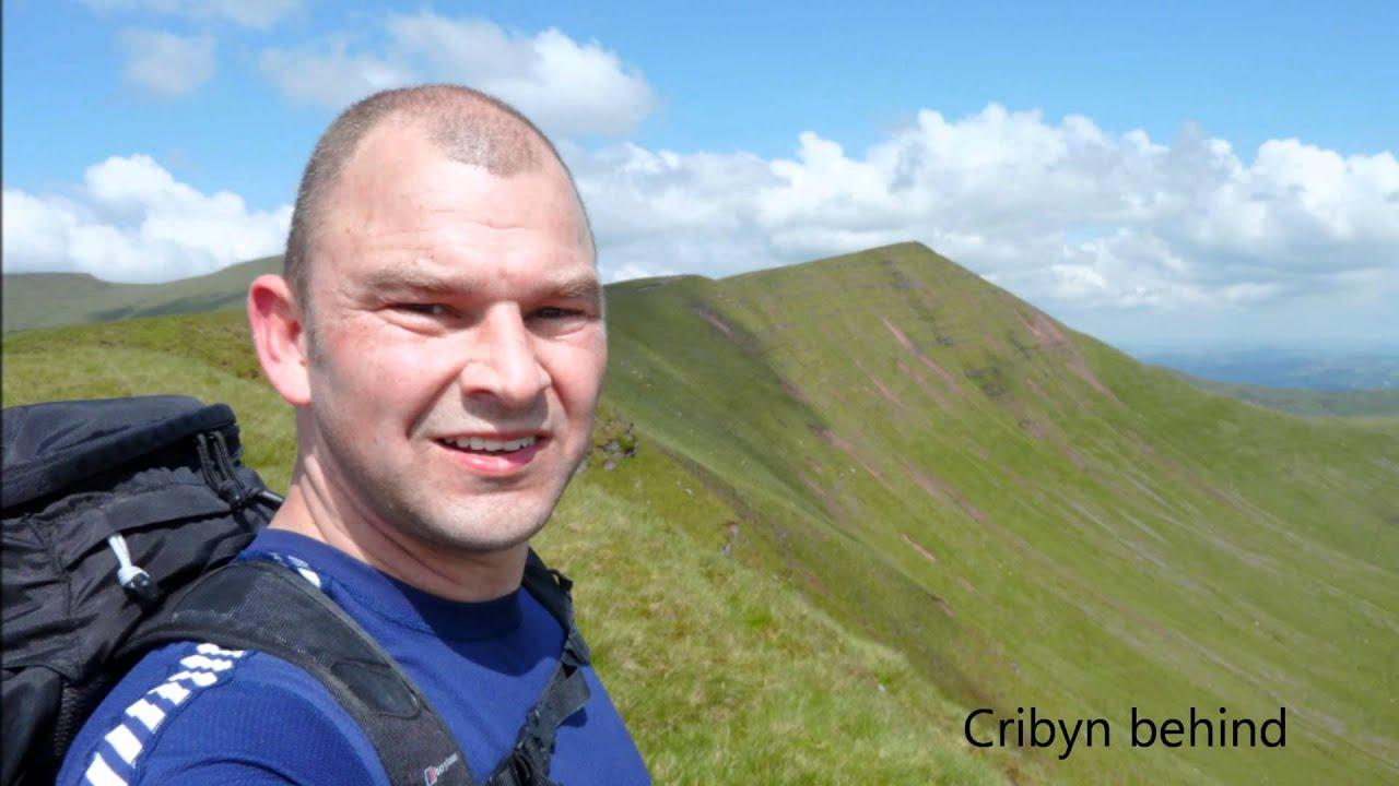 Pen Y Fan Walk >> Pen y Fan & Brecons Horseshoe, Brecon Beacons - 13 June 2012 - YouTube