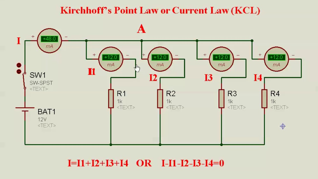 Electrical Circuit Kirchhoff U2019s Law Bangla