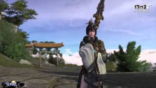 Moonlight Blade Online - Shenwei Skill Preview: Spear and Bow