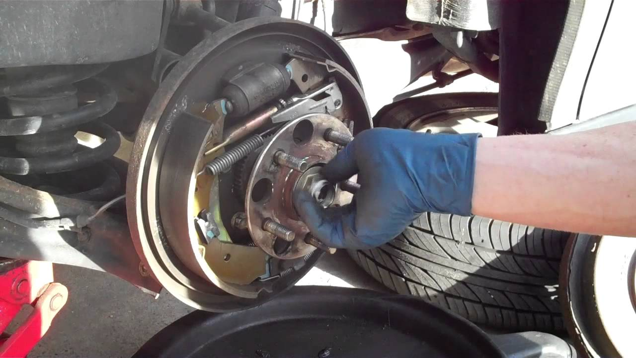 2006 Ford Super Duty Trailer Wiring Diagram How To Replace The Rear Wheel Hub Bearing On Your Honda